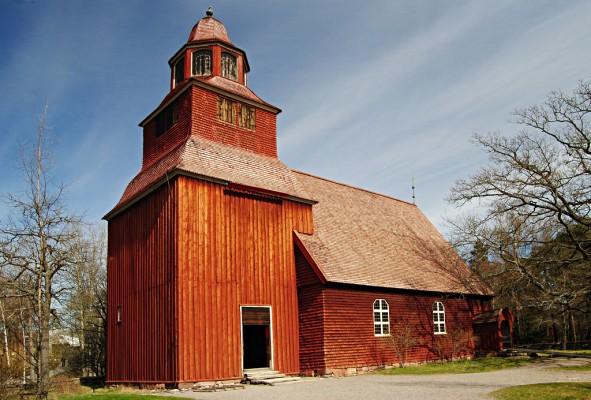 Seglora_kyrka_Skansen_Stockholm_Sverige