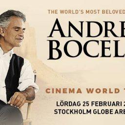 Konsert med Bocelli